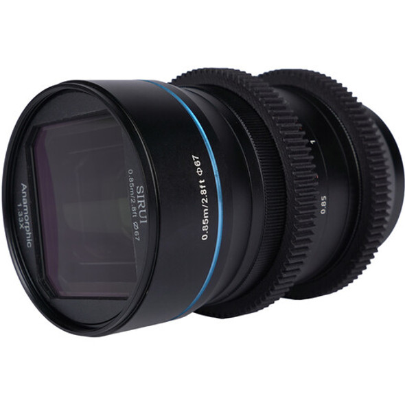 Sirui 35mm F1.8  Anamorphic 1.33x Lens for EF-M Mount 變形電影鏡頭