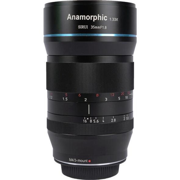 Sirui 35mm F1.8  Anamorphic 1.33x Lens for M Mount 變形電影鏡頭