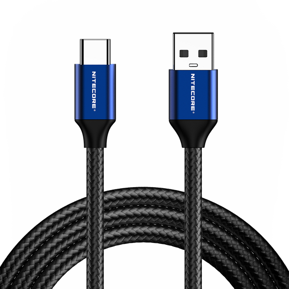 Nitecore UAC20 Charging Cable USB 3.0 to USB-C 3A 充電傳輸線