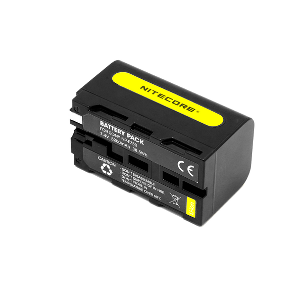 Nitecore  NP-F750 battery pack for video light and Sony camcorders 攝錄補光燈專用鋰電池