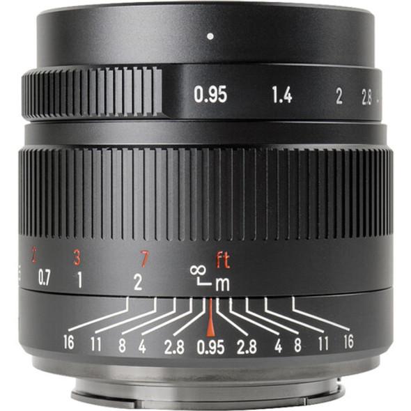 七工匠 7artisans 35mm f/0.95 Panasonic Olympus MFT Mount 鏡頭