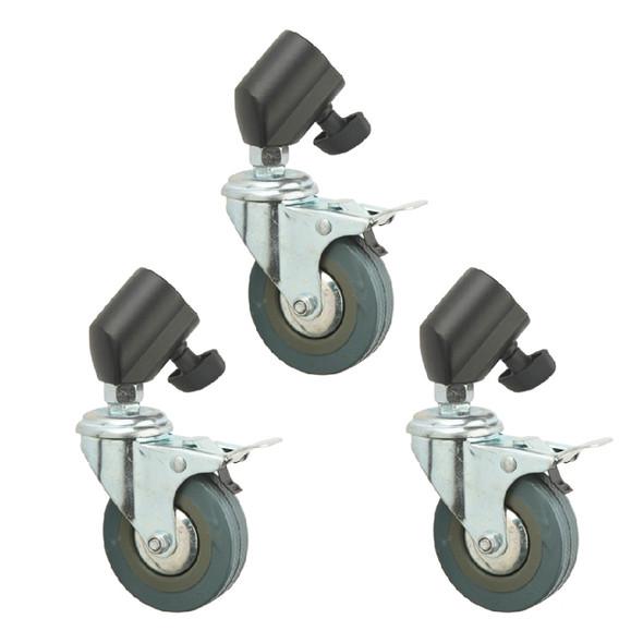 Jinbei 金貝 JB11-036A 25mm 燈架腳輪三件套裝