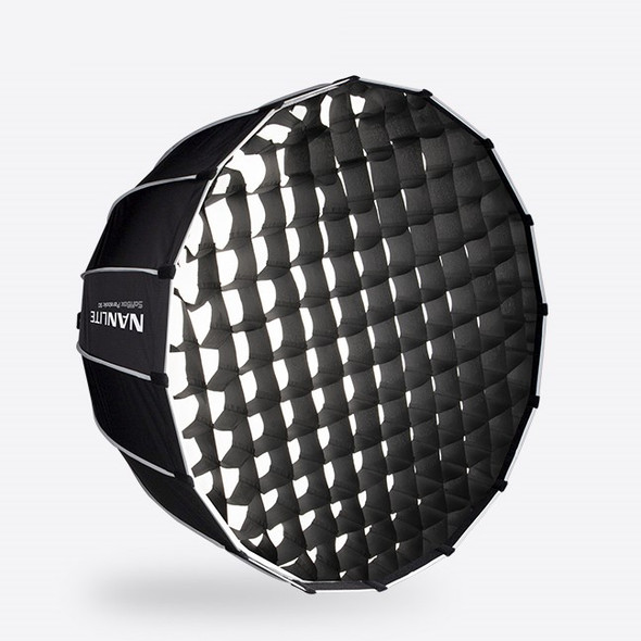 NanLite 南光 SB-PR-120-Q 120cm Bowens Mount Softbox with Grid 柔光箱+蛋格套裝