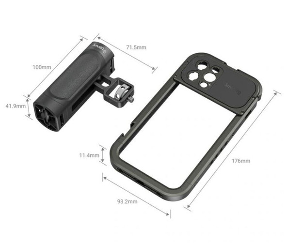 SmallRig Handheld Video Rig kit for iPhone 12 Pro Max 3176