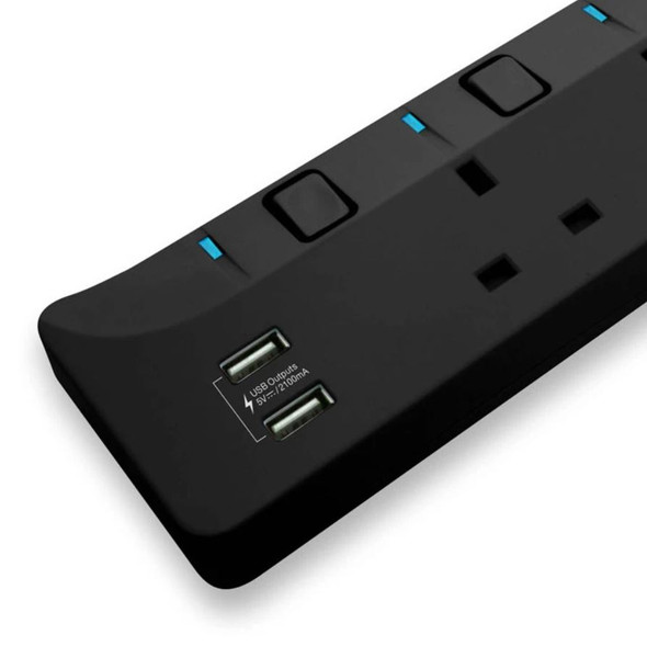 牛魔王 Maxpower RX40U 4位拖板帶2位USB充電