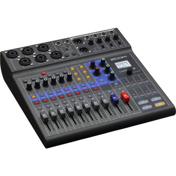Zoom LiveTrak L-8 8-Channel Digital Mixer + Recorder