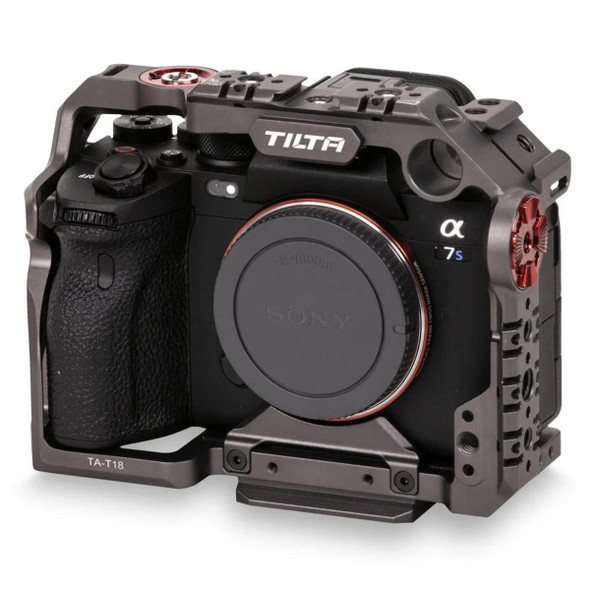 Tilta 鐵頭 TA-T18-FCC-G Full Cage for Sony A7S3 套籠 Tilta Gray 灰色