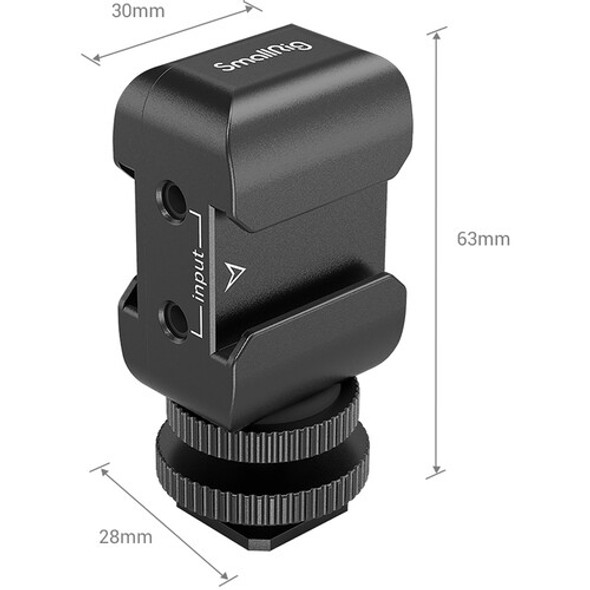 SmallRig Two-in-one Bracket for wireless microphone 2996