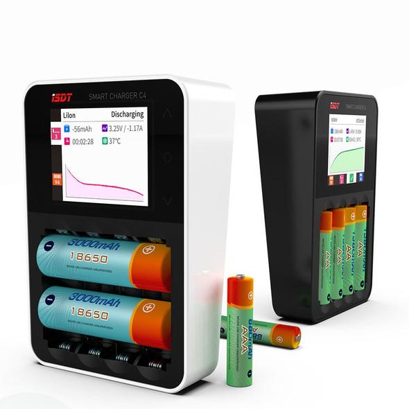 ISDT C4 Smart Charger 輕觸式彩色顯示 4 slots 充電器