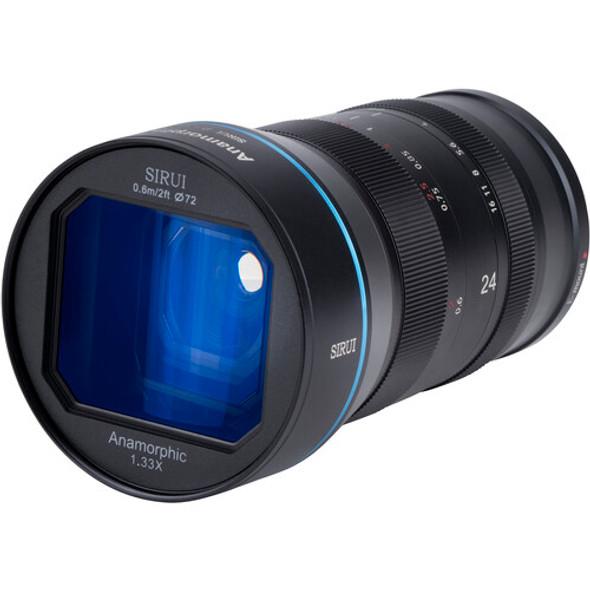 Sirui 24mm F2.8 Anamorphic 1.33x Lens for  E Mount 變形電影鏡頭