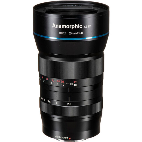 Sirui 24mm F2.8  Anamorphic 1.33x Lens for Fuji FX Mount 變形電影鏡頭