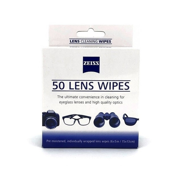 Zeiss Lens Cleaning Wipes 蔡司專業光學擦鏡紙 50片裝