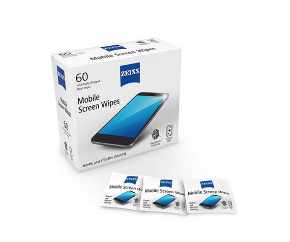 Zeiss Mobile Screen Wipes 蔡司專業手機屏幕擦拭紙 60片裝