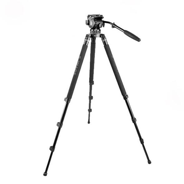 E-Image GH06+761AT Aluminium Solo Tripod with 75mm Fluid Head