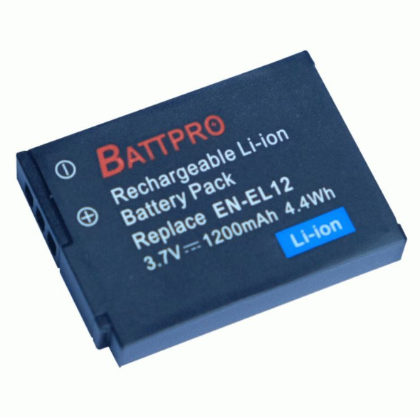 Battpro EN-EL12 Battery for Nikon 相機代用電池