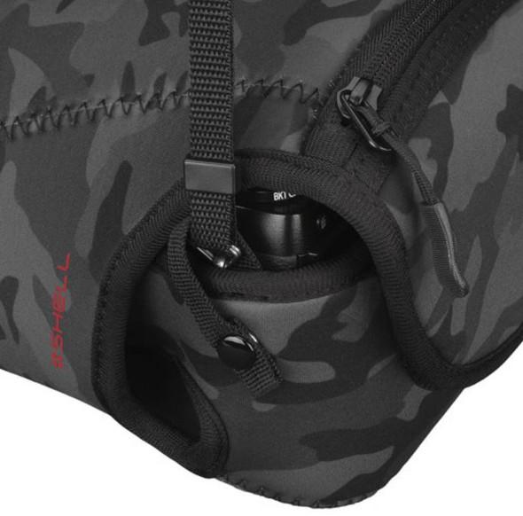 Hakuba Plus Shell Slim Fit 02 L200 相機套 Black Camo 迷彩黑