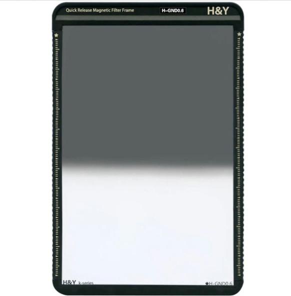 H&Y K-Series Hard GND4 / 0.6 / 2-Stops 100x150mm with Frame 漸變灰濾鏡連框架
