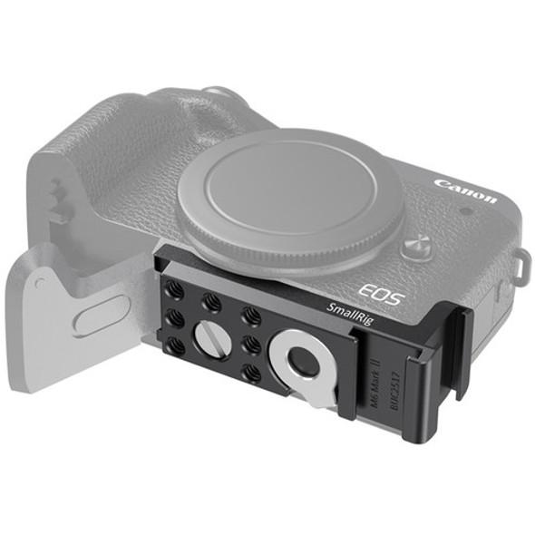 SmallRig Vlogging Cold Shoe Plate for Canon EOS M6 Mark II BUC2517