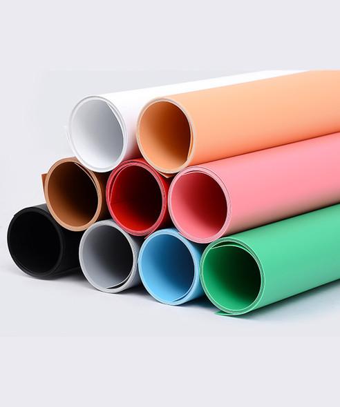 攝影用塑膠背景啞面 PVC (紅色) 1m x 2m