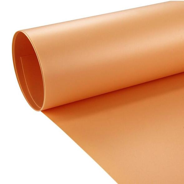 攝影用塑膠背景啞面 PVC (橙色) 1m x 2m