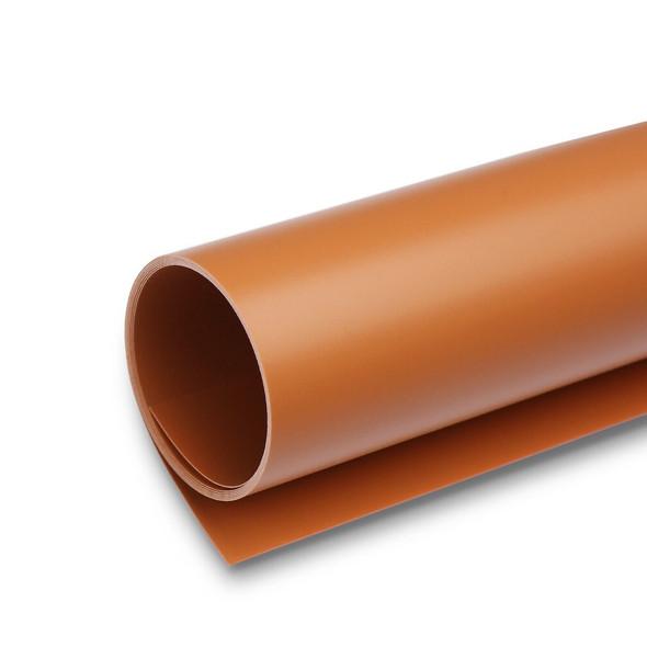攝影用塑膠背景啞面 PVC (啡色) 1m x 2m
