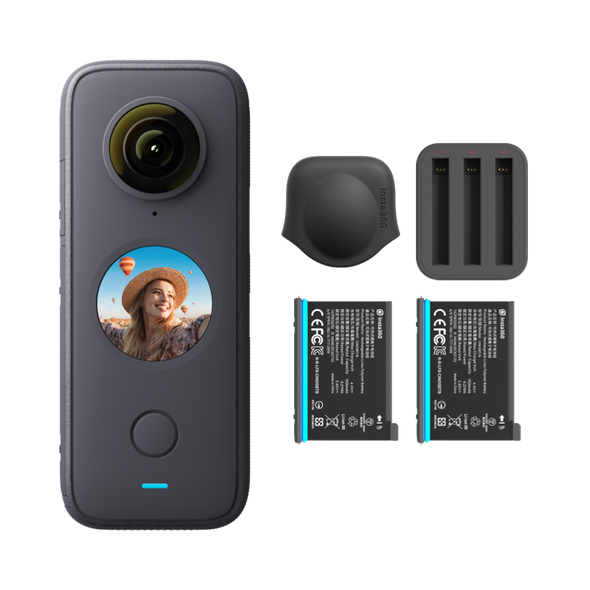 Insta360 ONE X2 Battery Kit 運動攝錄機套裝