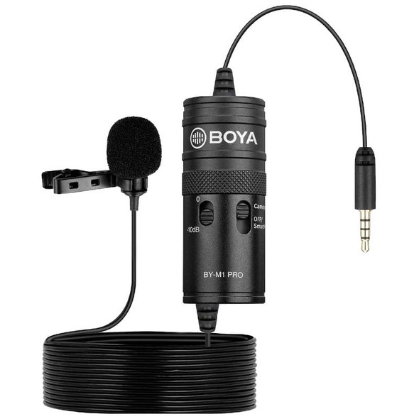 Boya BY-M1 單咪頭領夾收音咪 (手機 / 相機 / TRRS / TRS / 3.5mm)