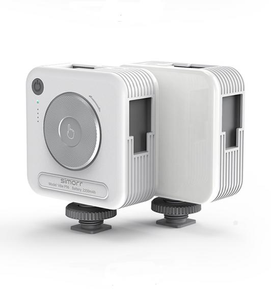 Simorr P96 Video LED Light 3287 攝錄補光燈 White 珍珠白