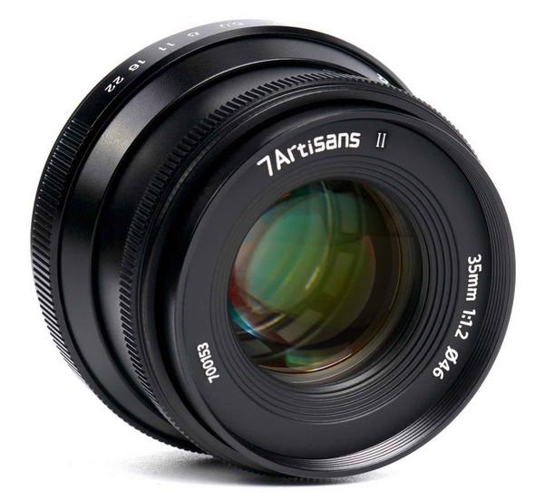 七工匠 7artisans 35mm f/1.2 II Canon EOS M Mount 鏡頭