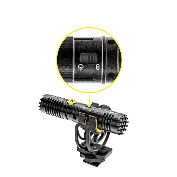 7Ryms MinBo M2 雙向指向性機頂收音咪