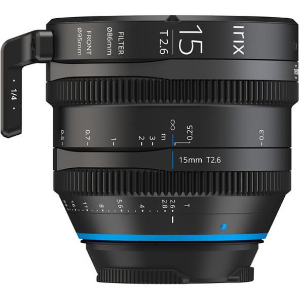 Irix Cine Lens 15mm T2.6 for Nikon Z Mount Metric 電影鏡頭