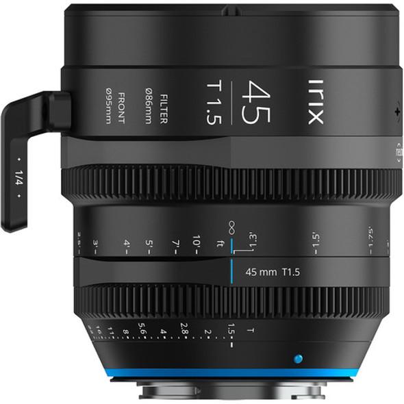Irix Cine Lens 45mm T1.5 for Nikon Z Mount Metric 電影鏡頭