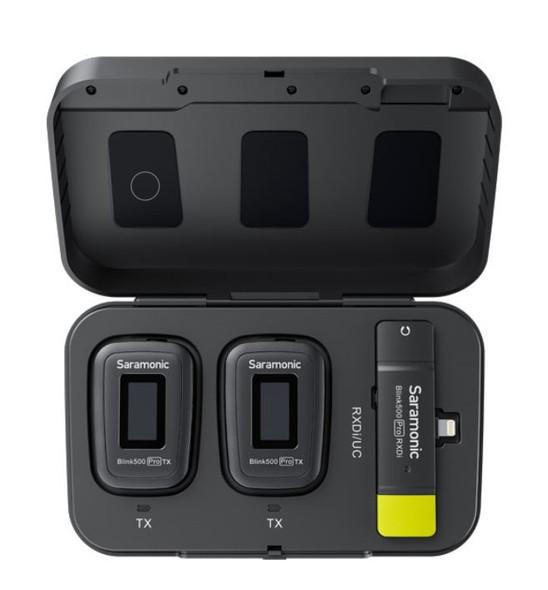 Saramonic Blink500 Pro B4 2.4Ghz 一對二無線手機領夾咪 For Apple iPhone Lightning