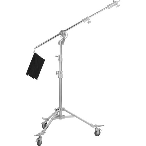 Jinbei 金貝 M-6 Steel Light Stand with Boom Adapter 旋轉型吊臂有轆燈架(408cm)