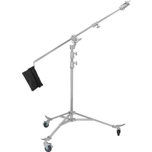Jinbei 金貝 M-8 Steel Light Stand with Boom Adapter 旋轉型吊臂有轆燈架(530cm)