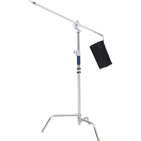 Jinbei 金貝 K-4 Steel Light Stand with Boom Adapter 旋轉型吊臂燈架(316cm)
