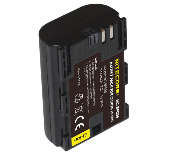 Nitecore LP-E6N Battery Pack for Canon 相機專用鋰電池