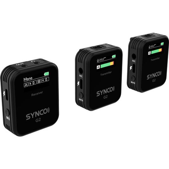 Synco G2 A2 Wireless Microphone 一對二無線手機領夾咪