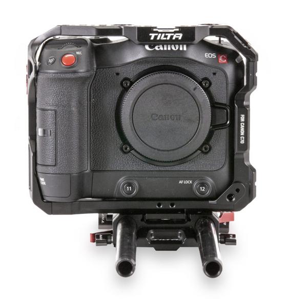 Tilta 鐵頭 TA-T12-A-B Lightweight Kit for Canon C70 輕便版套裝 Tilta Gray