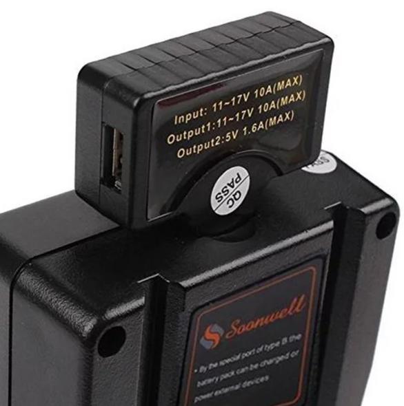 Soonwell D-USB D-Tap to USB Adapter