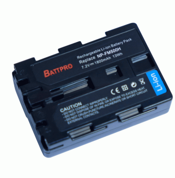 Battpro NP-FM500H Battery for Sony 相機代用電池