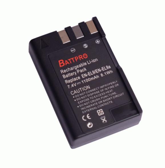 Battpro EN-EL9 Battery for Nikon 相機代用電池