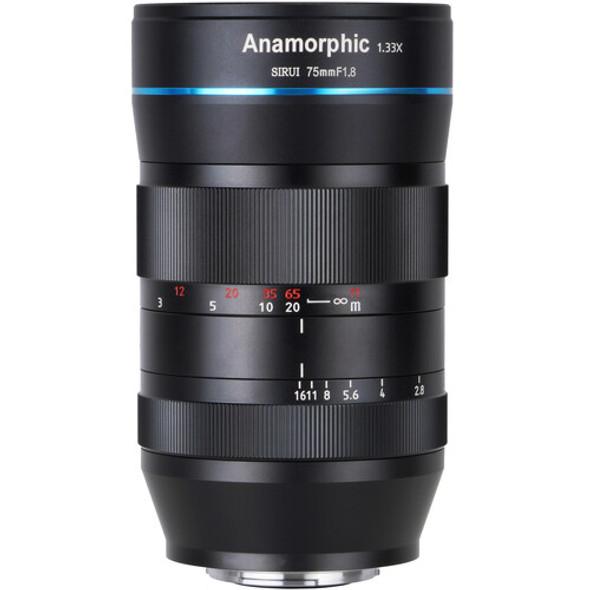 Sirui 75mm F1.8 Anamorphic 1.33x Lens for EF-M Mount 變形電影鏡頭