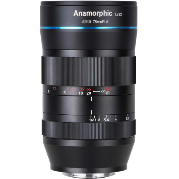 Sirui 75mm F1.8  Anamorphic 1.33x Lens for E Mount 變形電影鏡頭