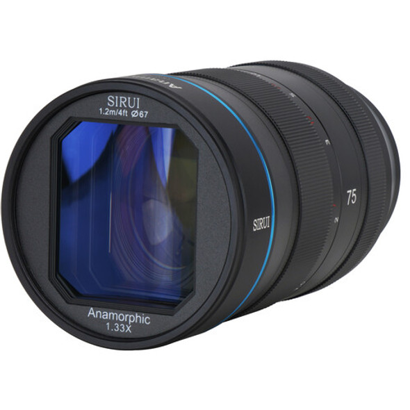 Sirui 75mm F1.8  Anamorphic 1.33x Lens for Z Mount 變形電影鏡頭