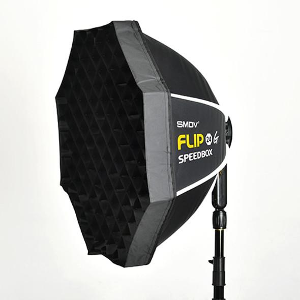 SMDV Flip 24G Speedbox with grid 快開柔光箱連網格 (S adapter)