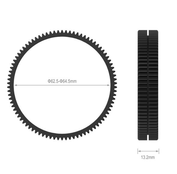 SmallRig Φ62.5-Φ64.5 Seamless Focus Gear Ring 3291