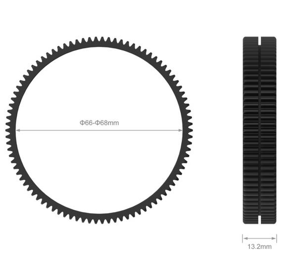 SmallRig Φ66-Φ68 Seamless Focus Gear Ring 3292
