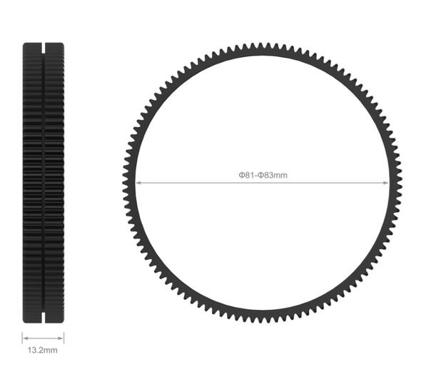 SmallRig Φ81-Φ83 Seamless Focus Gear Ring 3296