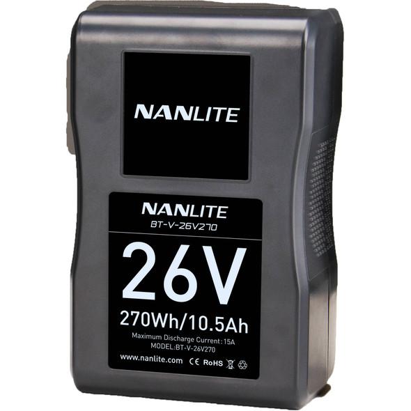 Nanlite 南光 BT-V-26V270 270Wh V-MOUNT LI-ION BATTERY V接口鋰電池